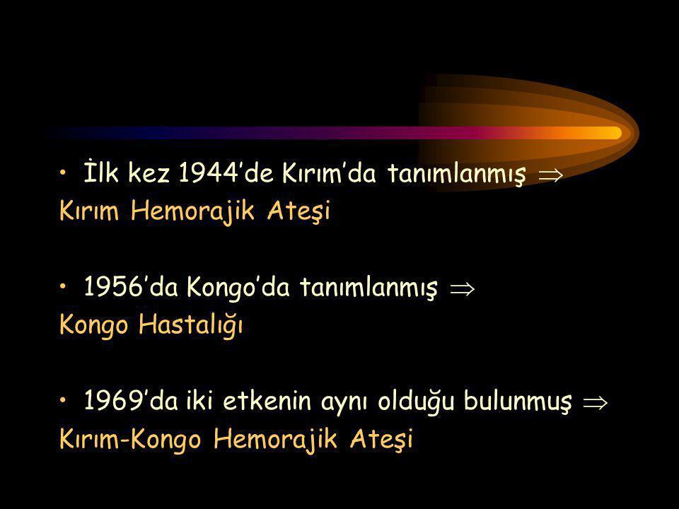 İlk kez 1944'de Kırım'da tanımlanmış 