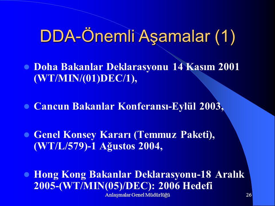 DDA-Önemli Aşamalar (1)