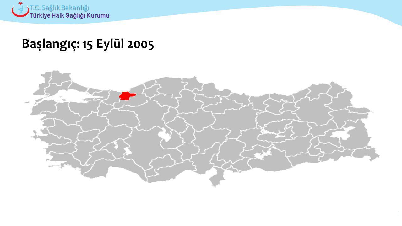 Başlangıç: 15 Eylül 2005