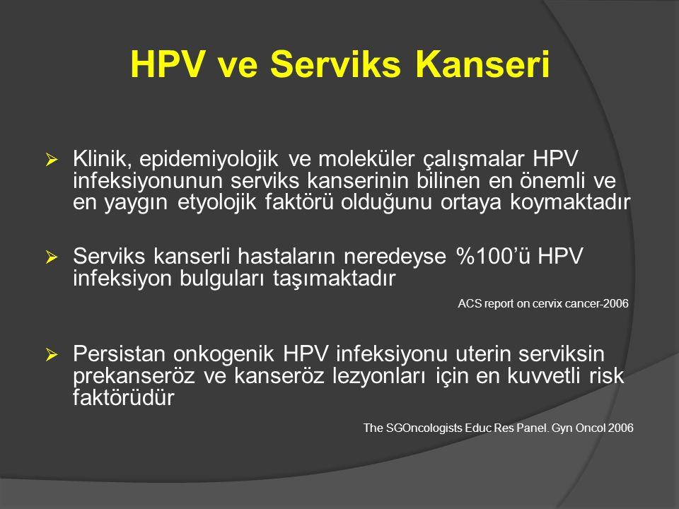 HPV ve Serviks Kanseri