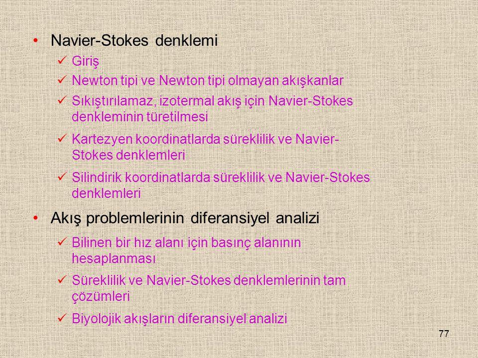 Navier-Stokes denklemi