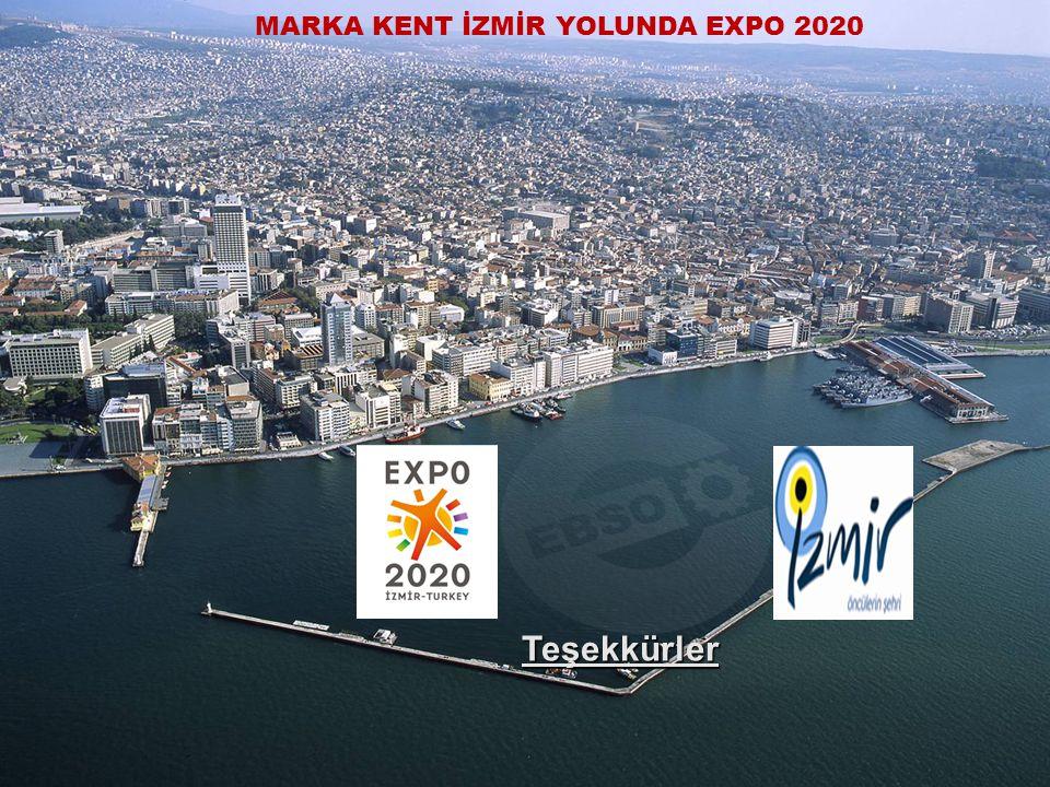 MARKA KENT İZMİR YOLUNDA EXPO 2020