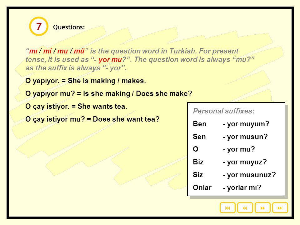 7 Questions: