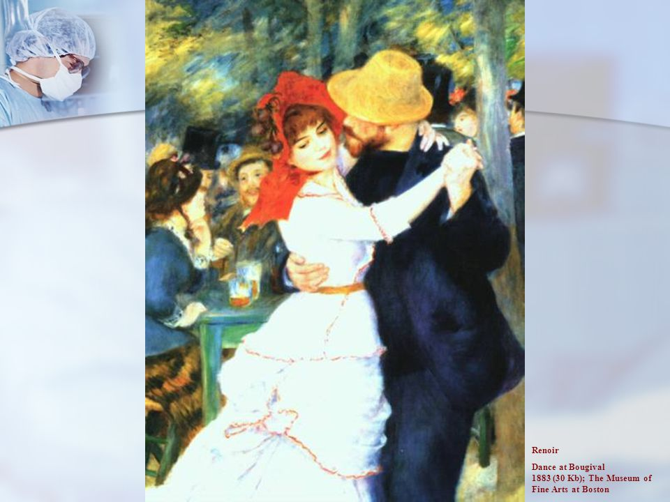 Renoir Dance at Bougival 1883 (30 Kb); The Museum of Fine Arts at Boston