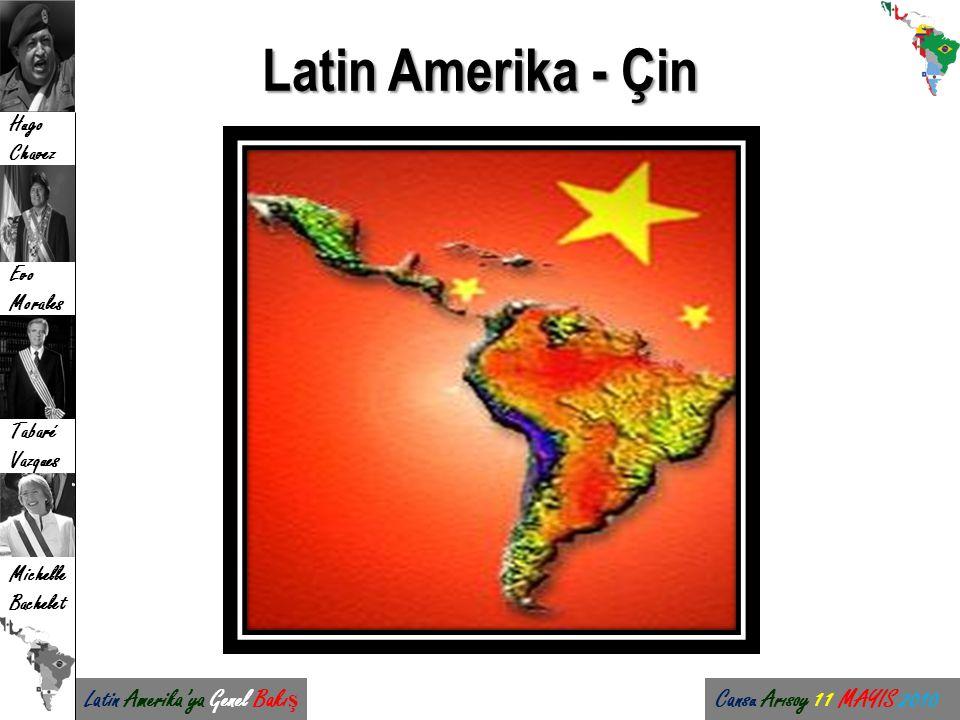 Latin Amerika - Çin