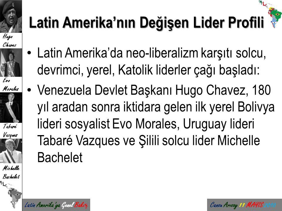 Latin Amerika'nın Değişen Lider Profili
