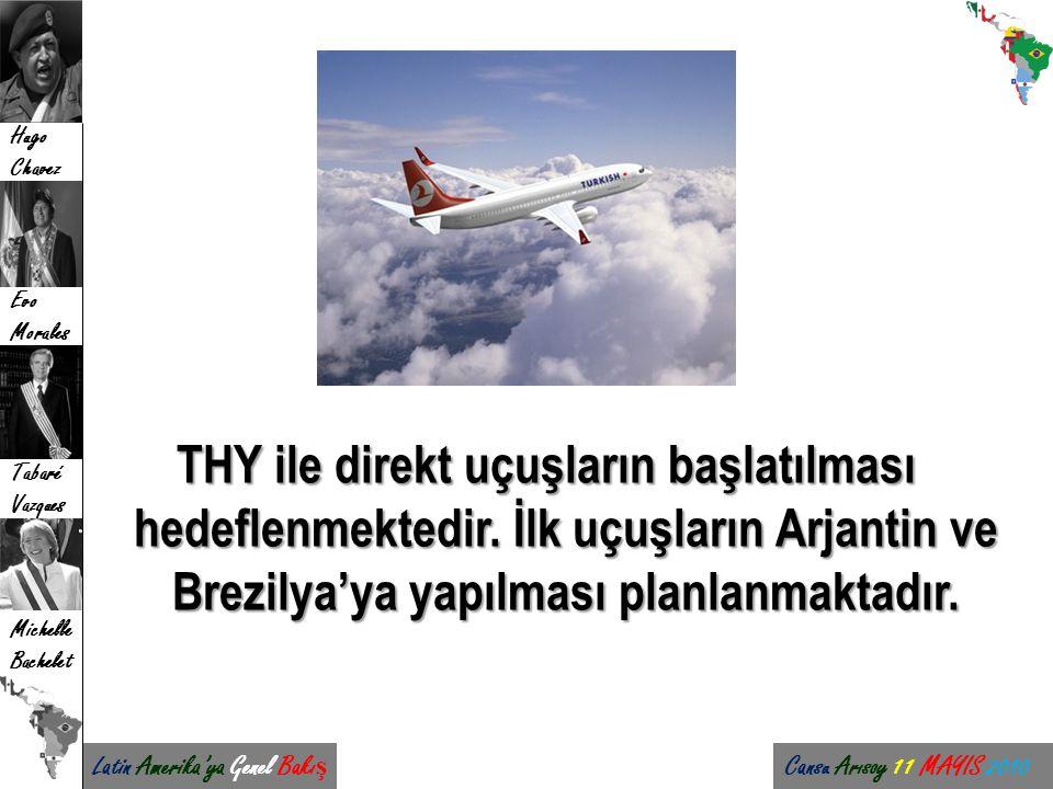 THY ile direkt uçuşların başlatılması hedeflenmektedir
