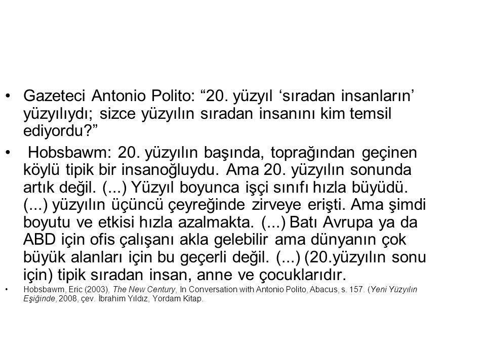 Gazeteci Antonio Polito: 20