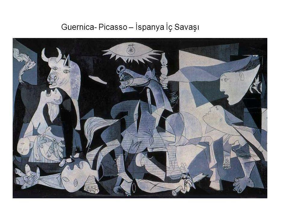 Guernica- Picasso – İspanya İç Savaşı