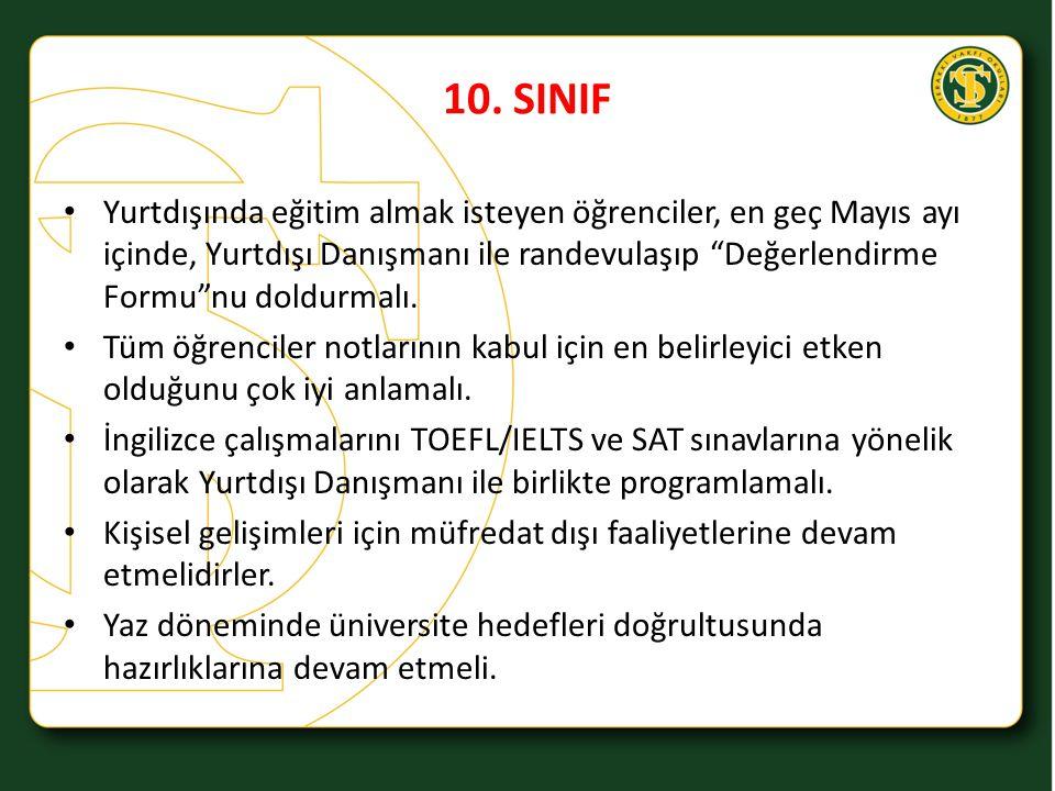 10. SINIF