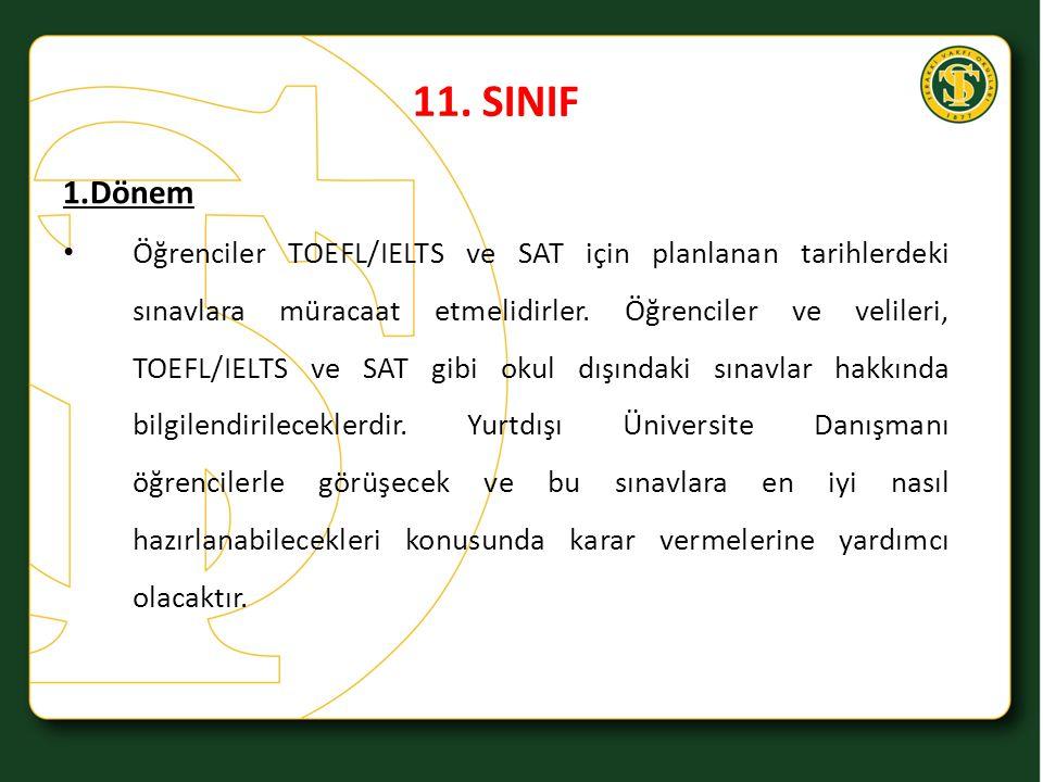 11. SINIF 1.Dönem.
