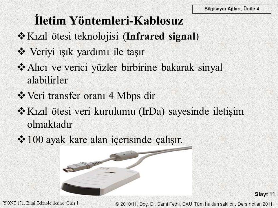 İletim Yöntemleri-Kablosuz