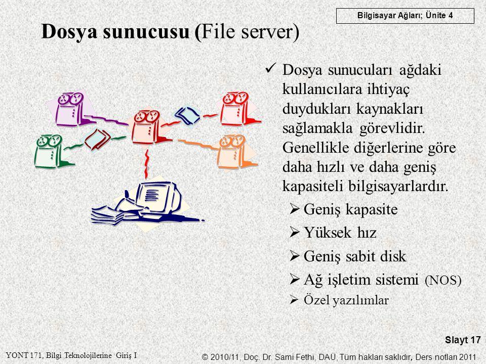 Dosya sunucusu (File server)