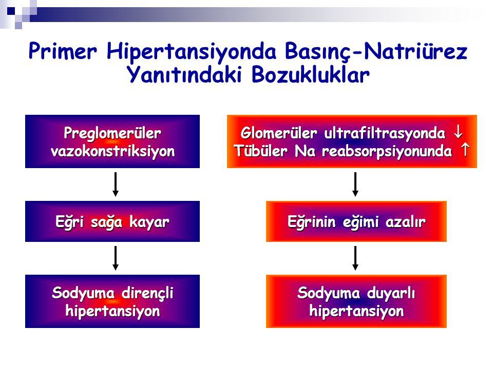 Primer Hipertansiyonda Basınç-Natriürez Yanıtındaki Bozukluklar