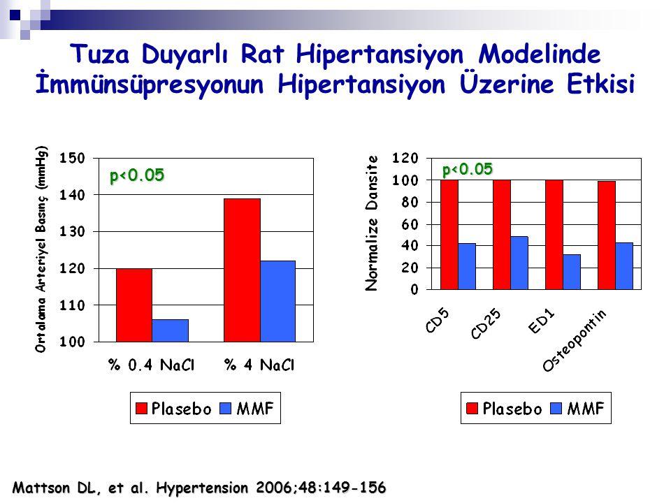 Tuza Duyarlı Rat Hipertansiyon Modelinde İmmünsüpresyonun Hipertansiyon Üzerine Etkisi