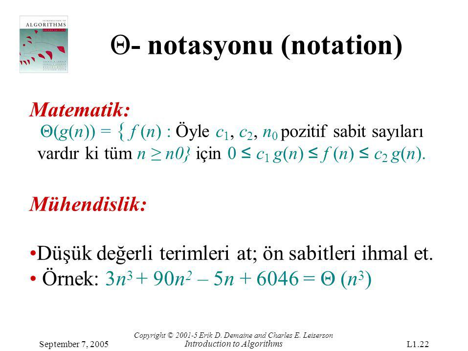 Θ- notasyonu (notation)