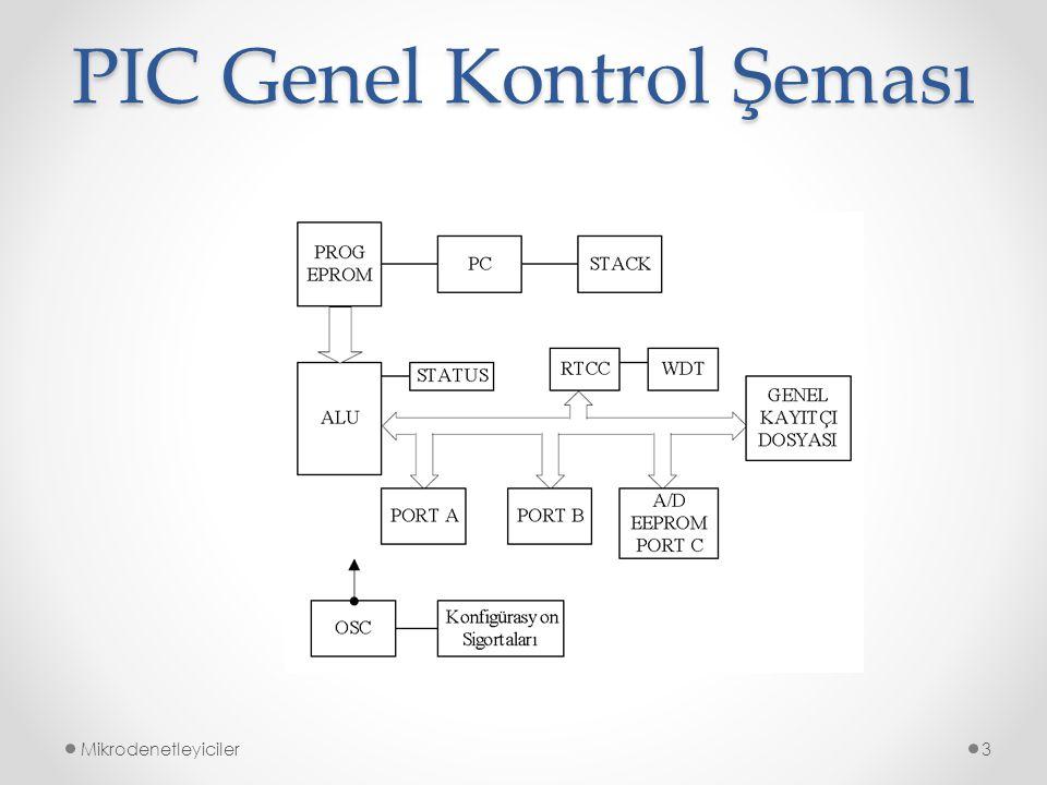 PIC Genel Kontrol Şeması