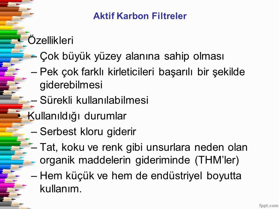 Aktif Karbon Filtreler