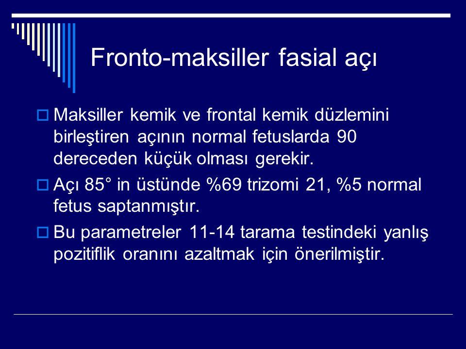 Fronto-maksiller fasial açı