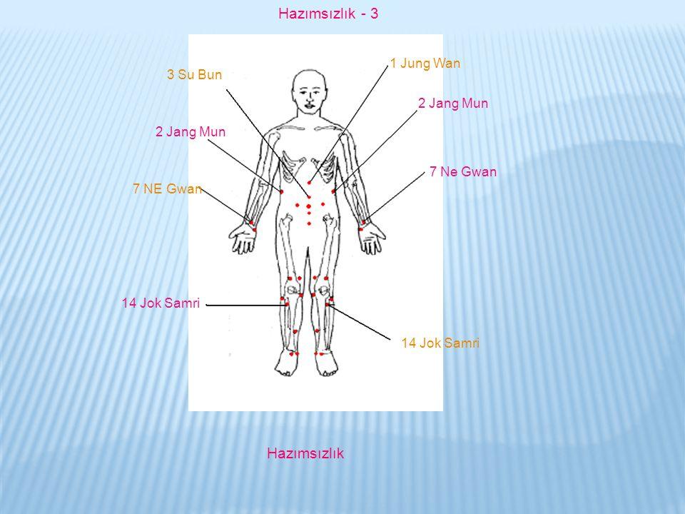 Hazımsızlık - 3 Hazımsızlık 1 Jung Wan 3 Su Bun 2 Jang Mun 2 Jang Mun
