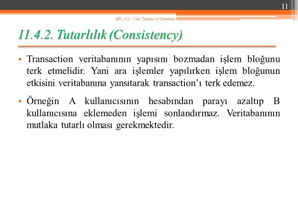 11.4.2. Tutarlılık (Consistency)