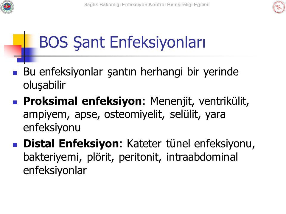 BOS Şant Enfeksiyonları