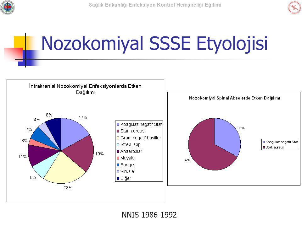Nozokomiyal SSSE Etyolojisi