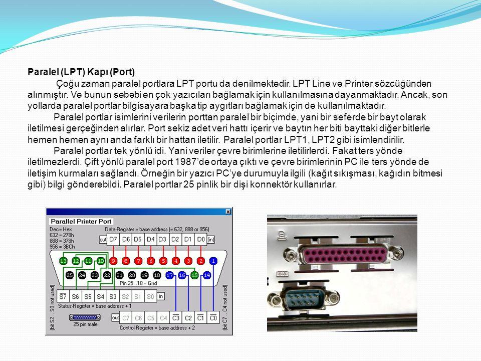 Paralel (LPT) Kapı (Port)
