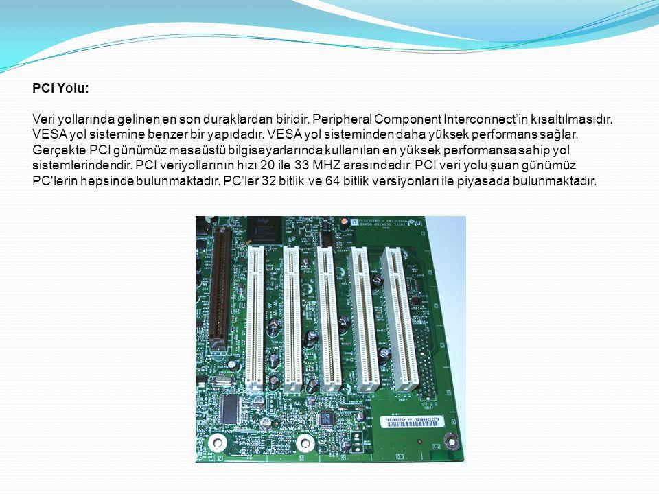 PCI Yolu: