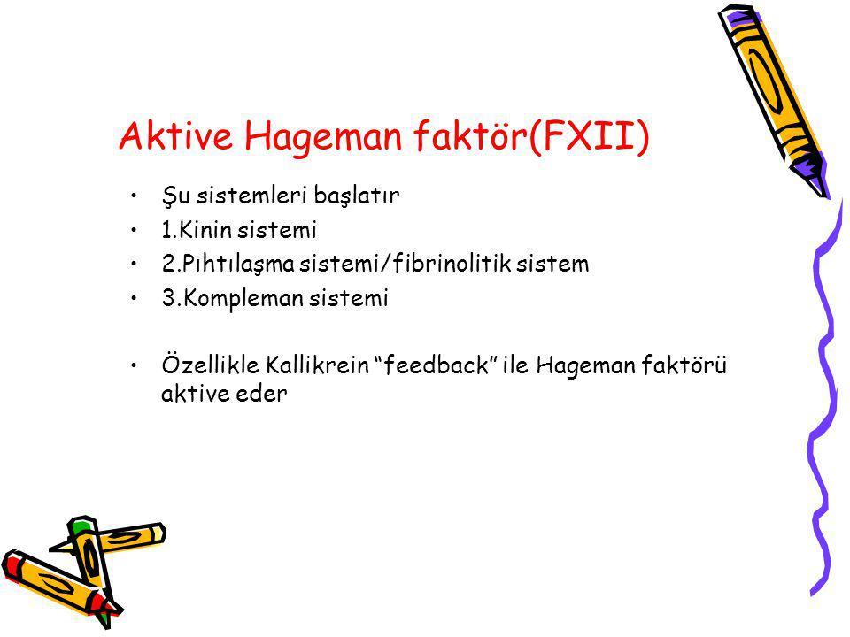 Aktive Hageman faktör(FXII)