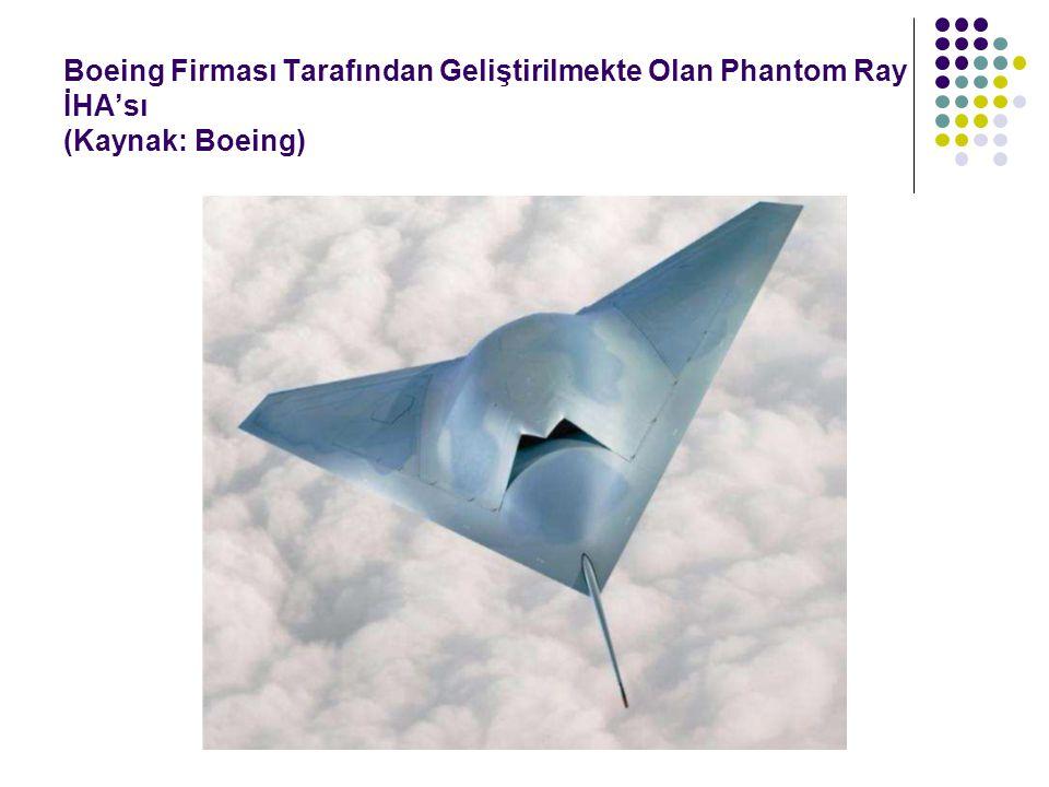 Boeing Firması Tarafından Geliştirilmekte Olan Phantom Ray İHA'sı (Kaynak: Boeing)