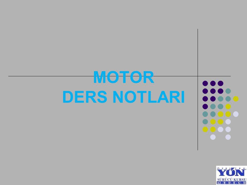 MOTOR DERS NOTLARI