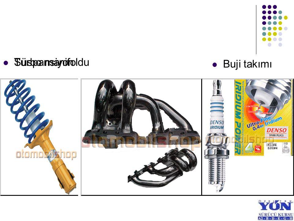 Turbo manifoldu Süspansiyon Buji takımı