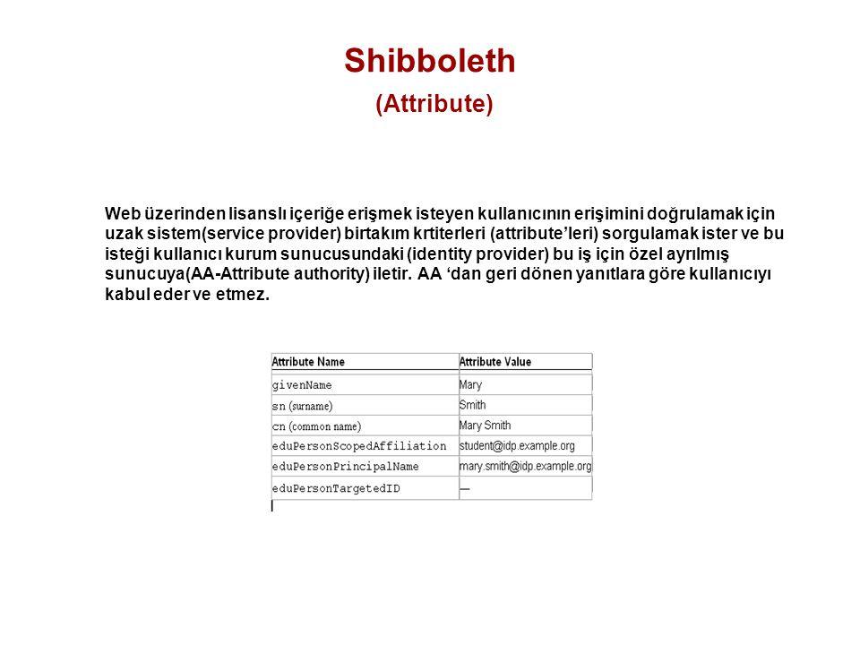 Shibboleth (Attribute)
