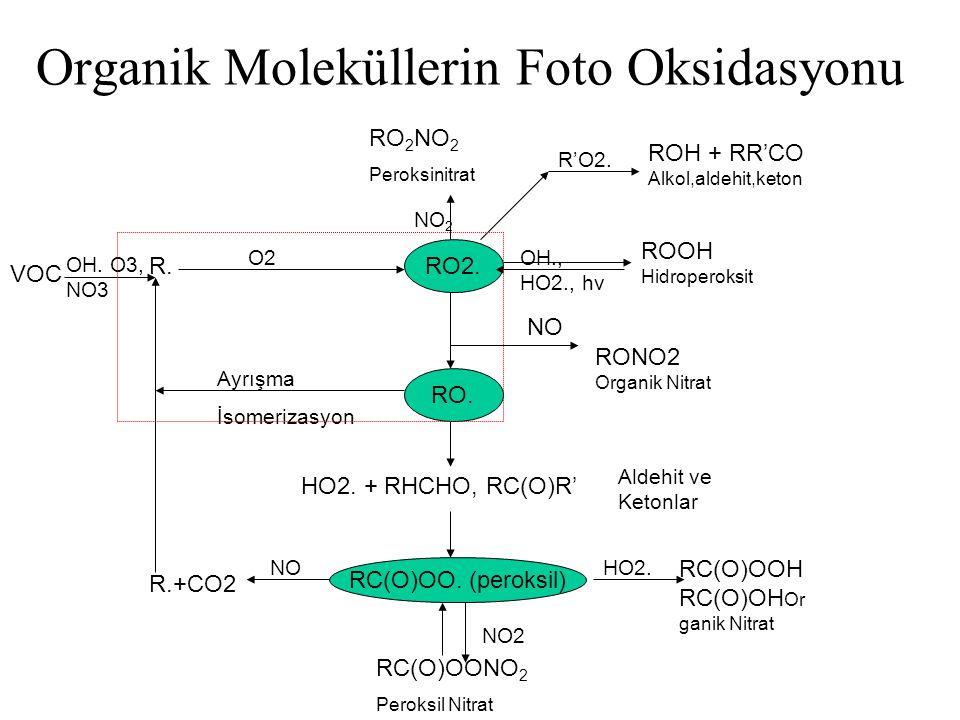 Organik Moleküllerin Foto Oksidasyonu