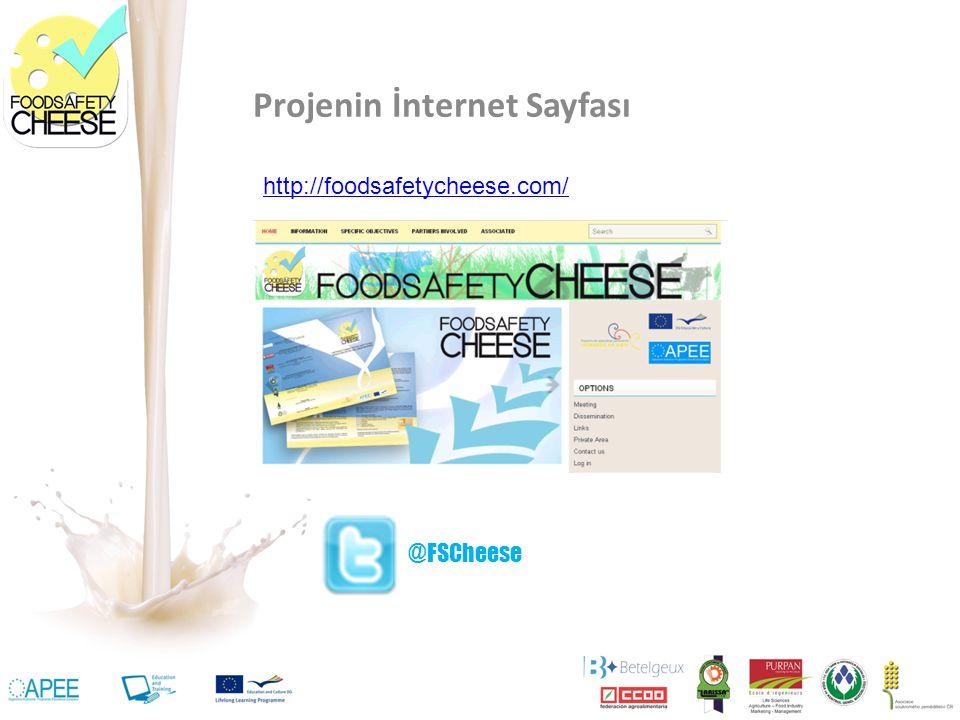 Projenin İnternet Sayfası