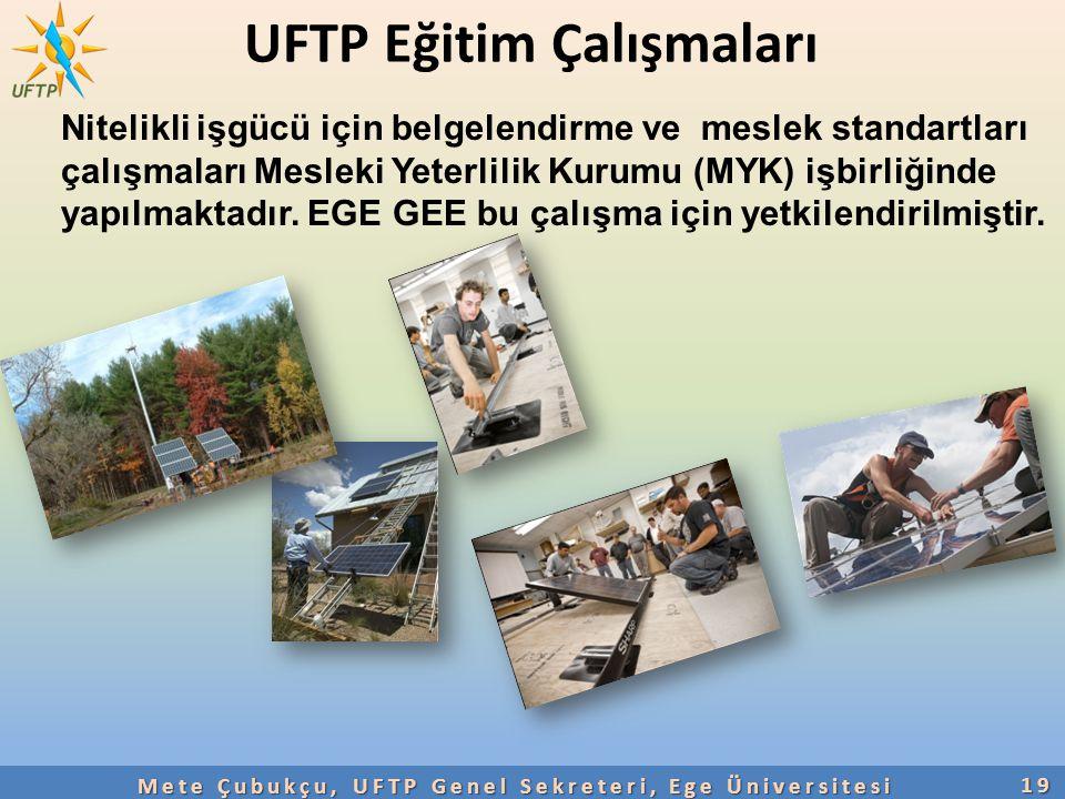 UFTP Eğitim Çalışmaları