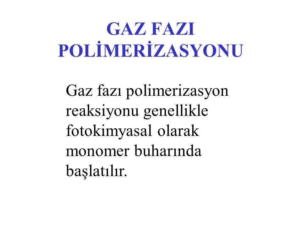 GAZ FAZI POLİMERİZASYONU