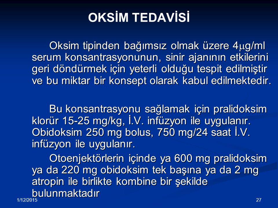 OKSİM TEDAVİSİ
