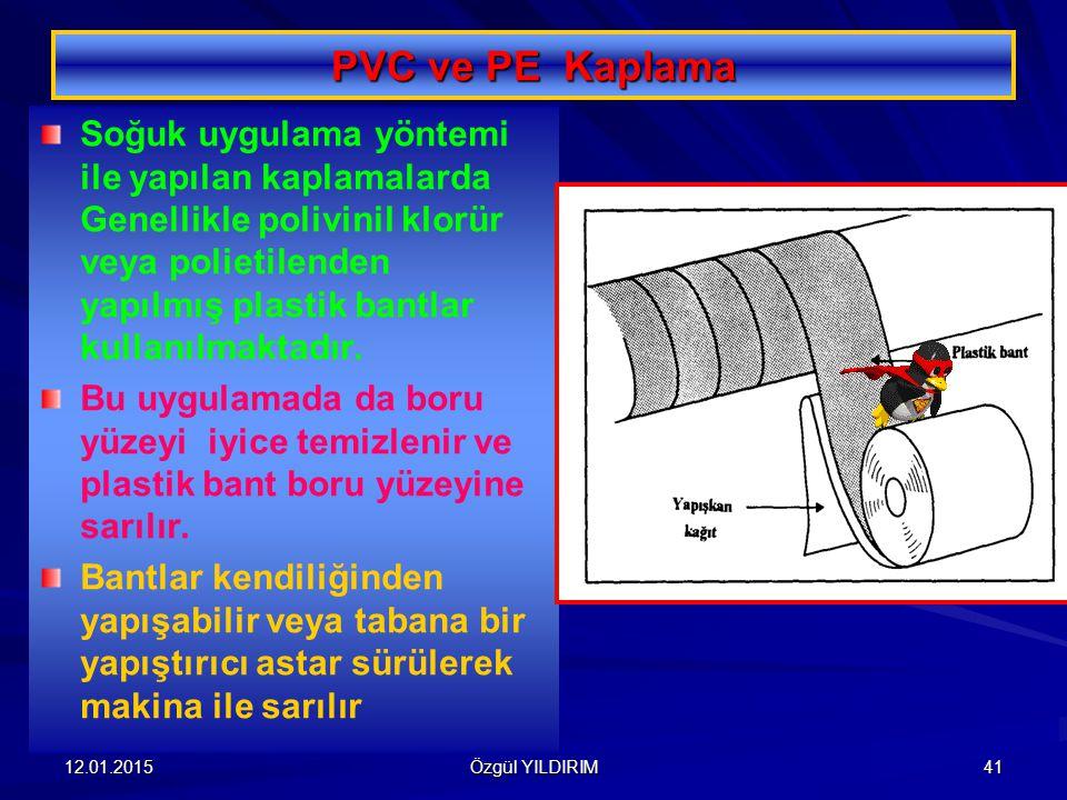 PVC ve PE Kaplama