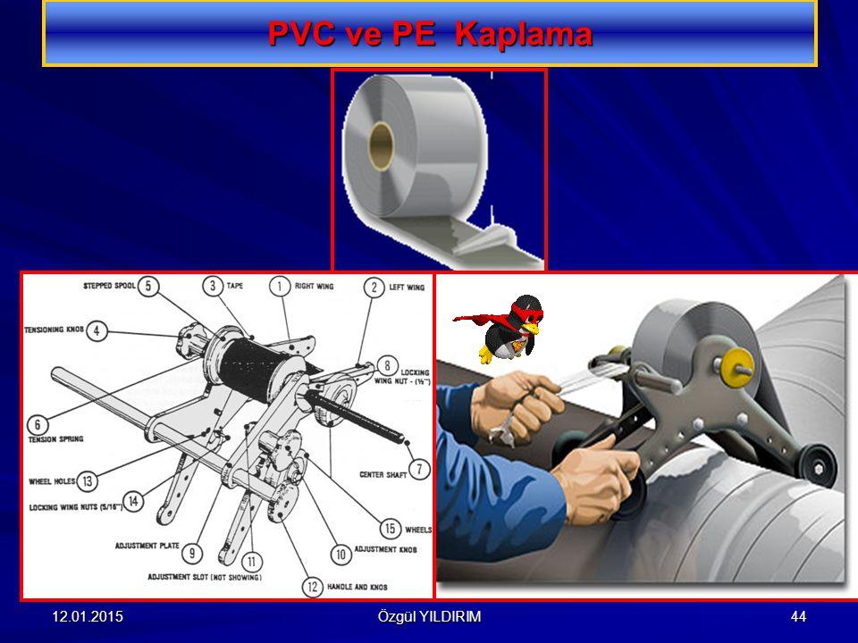 PVC ve PE Kaplama 08.04.2017 Özgül YILDIRIM