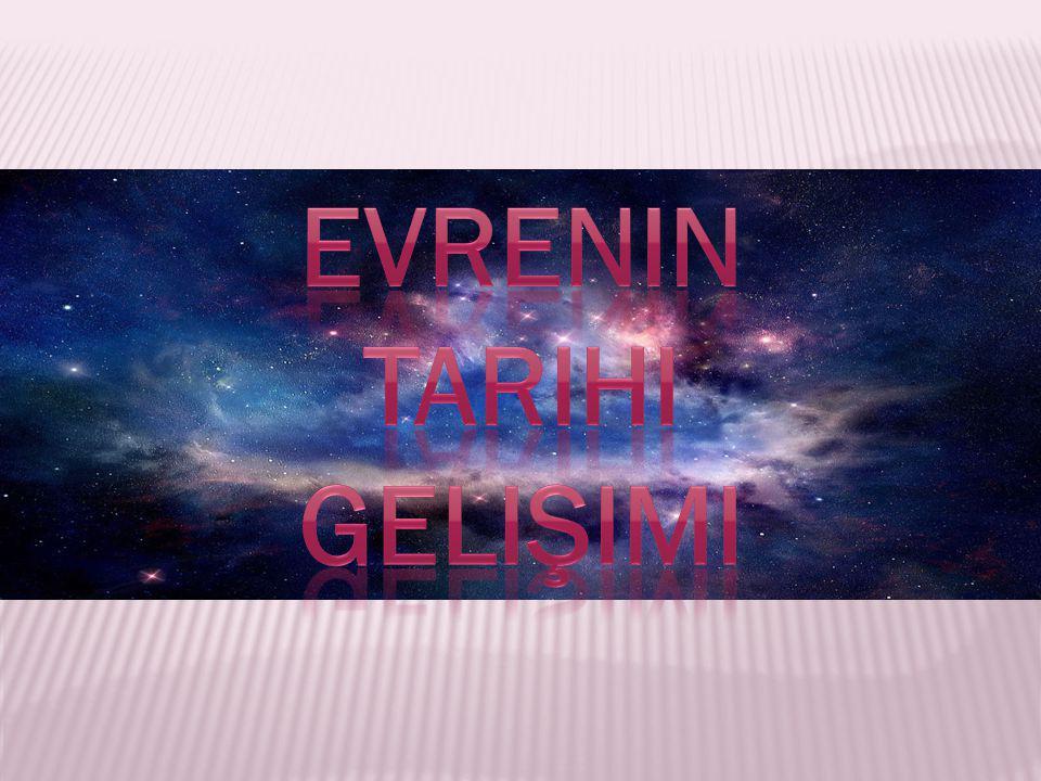 Evrenin tarihi gelişimi
