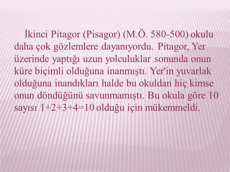 İkinci Pitagor (Pisagor) (M. Ö
