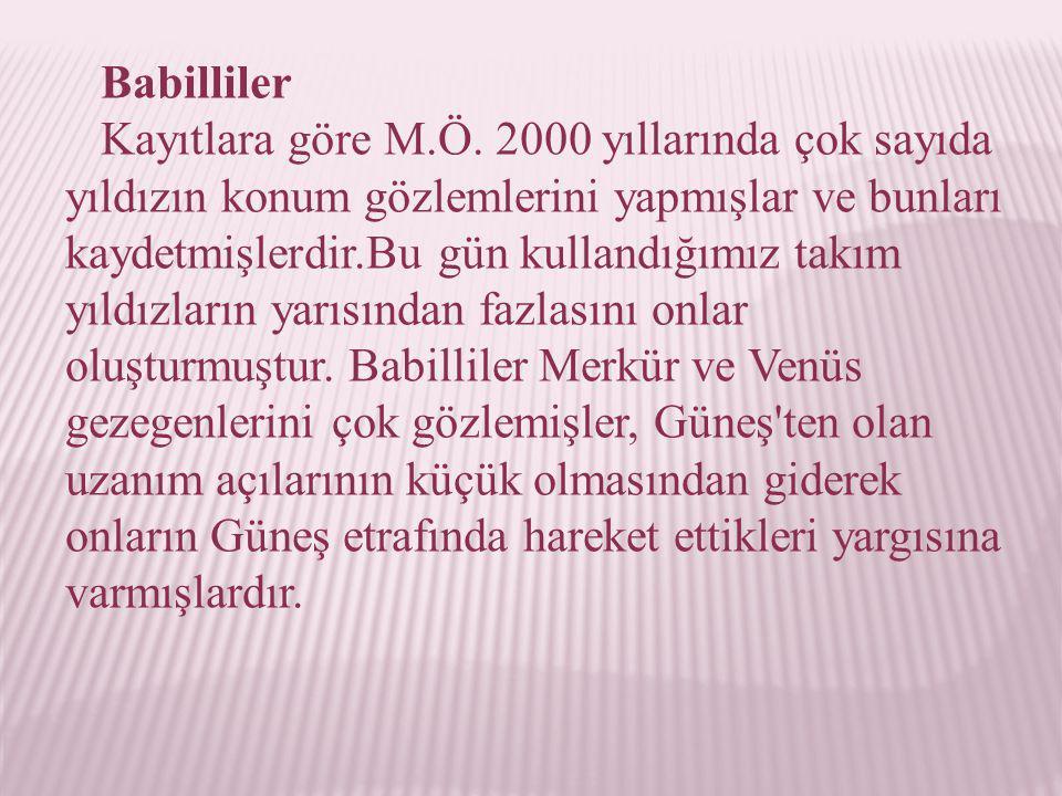 Babilliler