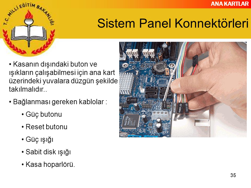 Sistem Panel Konnektörleri
