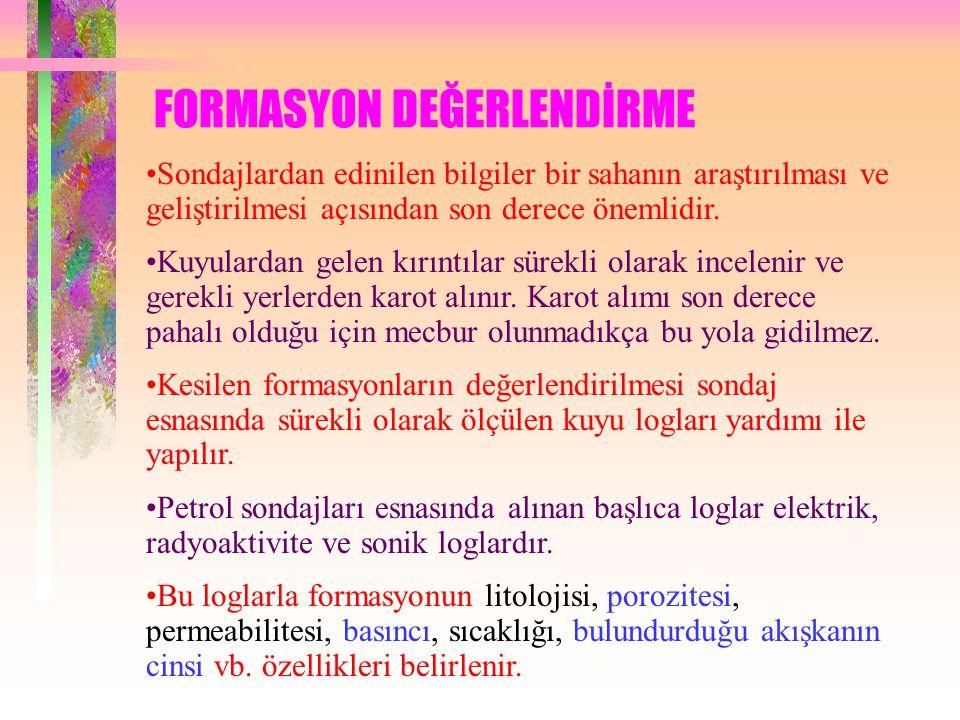 FORMASYON DEĞERLENDİRME