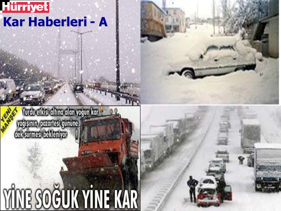 Kar Haberleri - A