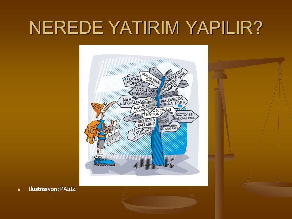NEREDE YATIRIM YAPILIR
