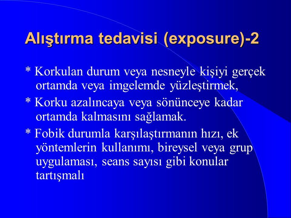 Alıştırma tedavisi (exposure)-2
