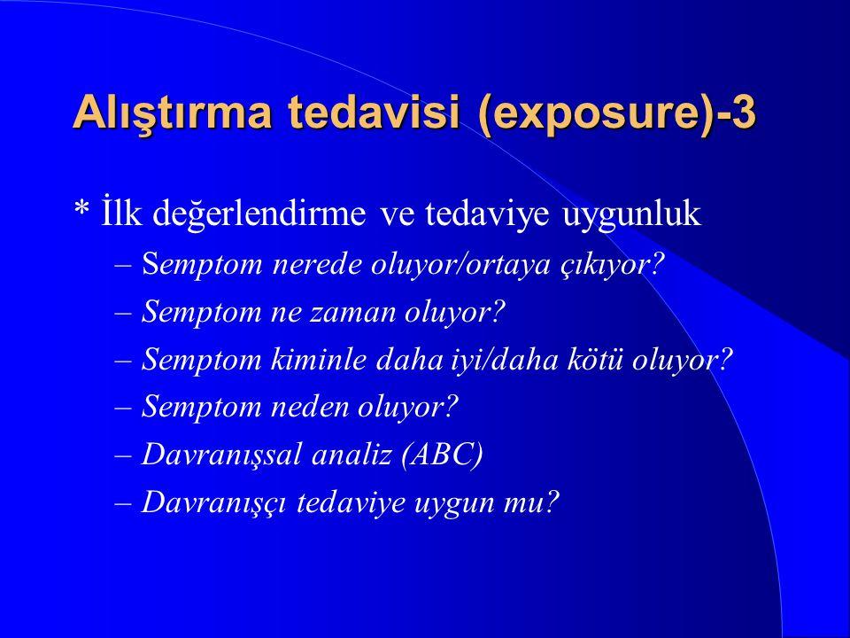 Alıştırma tedavisi (exposure)-3